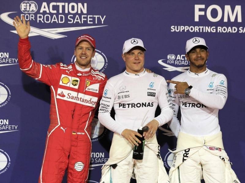 Formel 1: Bottas sichert sich Pole in Bahrain